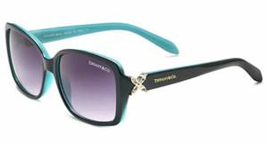 19 Gafas de sol de marca Gafas de marca Tonos para exteriores Moda Clásica Damas de lujo Espejos de gafas de sol para mujer