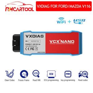 VXDIAG VCX For For OBD2 Car Diagnostic Tool 2 in 1 IDS V116 WiFi automotivo obd2 scanner PCM working still 2018