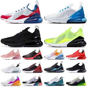 2019 Air Max 270 270s OFF WHITE Vapormax VM scarpe da uomo e da donna, bianco e nero rosa, sneakers classiche tricolore, scarpe da corsa 36-45