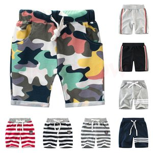 INPEPNOW Camouflage Stripe Children's Shorts for Boy Sport dance Summer Spring Kids Shorts for Girls Pants Baby Clothes CZX39 Y200704
