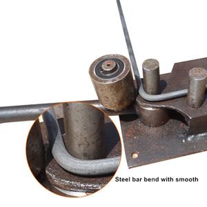 Envío gratis mano Rebar Bender 14 mm herramientas de doblado de barras de acero reforzado Bar Bending Machine Construction Steel Tools