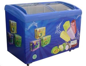 Dondurucu / buz lolipop dondurma / buz açılır dondurucu / buzlu şeker vitrin ticari buz buzlu şeker dondurucu / buzlu şeker soğutma / dondurma