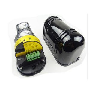 GSM uso de alarma 20m ~ 150m Puerta de pared de la ventana infrarrojo fotoeléctrico de doble detector de haz de protección 2 viga perimetral sensor de infrarrojos