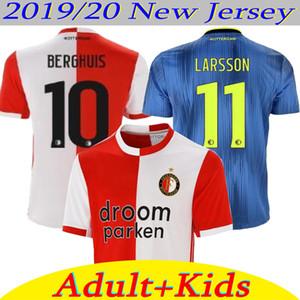 2019/20 Feyenoord futbol forması ev UZAK 19 20 Berghuis JORGENSEN LARSSON Feyenoord formaları YETİŞKİN VE ÇOCUK futebol Maillots de futbol takımı