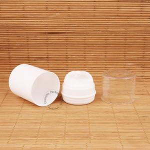 30pcs Lot Plastic Refillable 50ml Airless Pump Lotion Elmusion Bottle Small 5 3OZ Pot Empty 50g Cream Container