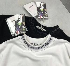 Verano 2018 Nueva Moda Mujer Hombre Camisetas Algodón Chiara Ferragni Ojos Grandes Bordado Lentejuelas acné Estilo Camisetas Mujeres estrellas