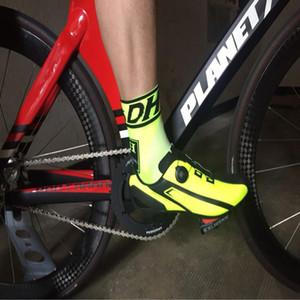 حار الرجال النساء تنفس دراجة دراجة الدراجات الرياضة فتل الجوارب calcetines ciclismo HOMBRE المهنة chaussette cyclisme