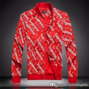 2020 caldo degli uomini progettista jacketsLong manica a vento Windrunner abbigliamento uomo giacca di lusso da uomo cerniera di design a vento