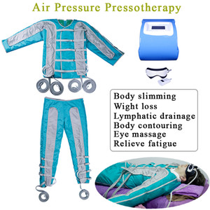 새로운 전문 Pressotherapy 공기 압력 림프 배수 마사지 적외선 전신 해독 슬리밍 림프 해독 기계