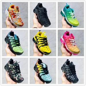 nike TN plus air max airmax vapormax 2019 Grands Enfants Vapeurs TN Plus Designer Chaussures De Course De Sport Enfants Garçon Filles Baskets Tn luxe Sneakers Toddler Chaussures