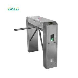 Turnstile 가격 QR 스캐너 Wiegand RFID 액세스 제어 기능을 갖춘 수직 삼각대 회중 문