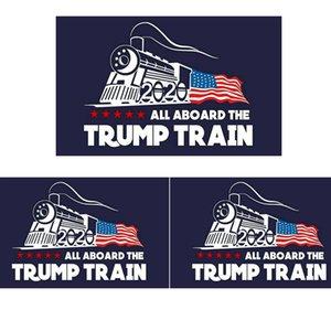 Мода 2020 Trump стикер автомобиля Дональд Iocomotive наклейки поезд стикер окна дома гостиная декор стены наклейки TTA809