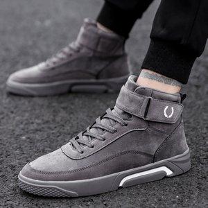Bravover Homens sapatos casuais Sneakers High Top Moda Footwear masculino fresco parte superior alta sapatos de alta qualidade