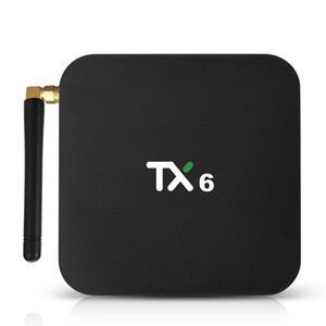 Latest android tv box TX6 Allwinner H6 4gb 32gb 64gb dual wifi 2.4g 5g BT4.1 android 7.1 smart tv box