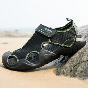 2020 Men Outdoor Sneakers Breathable Sandals Shoes Big Size Men Women Outdoor Hiking Sandals Trekking Trail Water