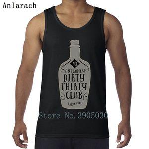 30th Birthday Dirty 30 Birthday Vest Crazy Design Family XS-2xl Tank Top Men Branded Singlets Summer Anlarach The New