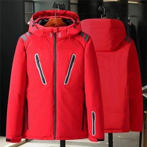 2019 Classic winter Brand Men Wear Thick Winter north al aire libre abrigos abrigos abajo chaqueta para hombre chaquetas cara ropa abajo Parkas negro 8011
