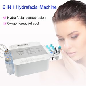 portable 2 in 1 hydrafacial water diamond dermabrasion beauty device face deep cleaning skin rejuvenation age