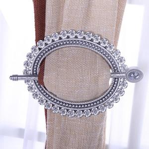 2pcs String Net Curtain Brooch Tie Back Clip Buckle Holder Decoration New