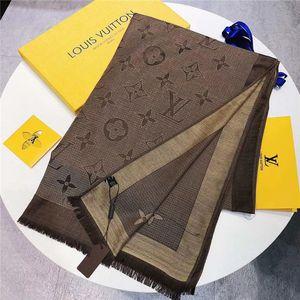 Hot Desinger scarf Exquisite design Gradation Keep warm Cashmere Italy Brand scarf fashion Beautiful luxury best gift