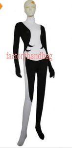 Новый цвет Сумерки Принцесса Мидна черный и белый спандекс костюм Хэллоуин косплей партия Зентаи костюм