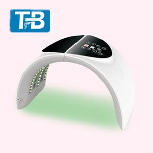Dispositivo básico de spa de colágeno PDT infrarrojo de 7 colores con el precio más bajo plegable para el removedor de arrugas y recuperación de la piel