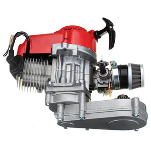 Двигатель 49cc 2-тактный тянуть начало с коробкой передач для мини мото грязь велосипед