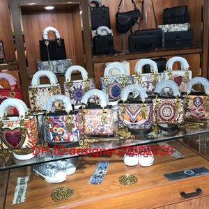 Classic Leather Fashion Handbag Flamenco bag nodo tote Lady Piccolo Totes borse di lusso borse borse delle donne tote bag casuale