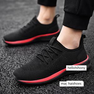 PUAMSS hombres de los zapatos corrientes zapatos de deporte de los hombres zapatos cómodos para caminar tendencia ligero hombres zapatillas de deporte Zapatillas transpirable