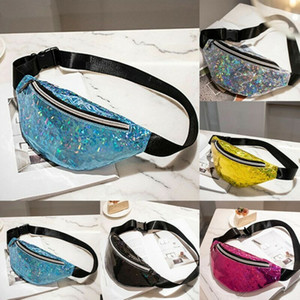 US STOCK 2019 Newest Hot Women Double Zippers Waist Fanny Pack Belt Bag Chest Pouch Travel Hip Bum Bag Lady Small Purse