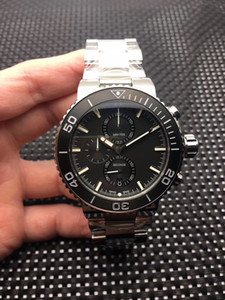 2020 newholesale 명품 시계, 361리터 스테인레스 스틸, 46mm 다기능 크로노 그래프 만든 디자이너 시계, 남성 vk67 석영 시계, 무료