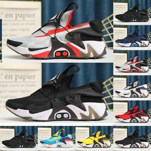 2020 Adattare Huarache Racer Scarpe da corsa blu Uomo Navy Black Bianco Huaraches Sneakers Huraches Brand Hurbache Trainer Size 40-45