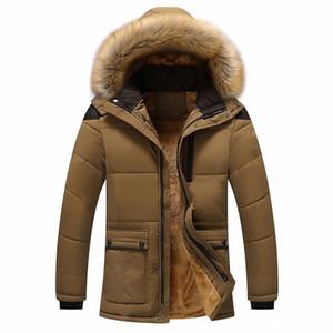 2020 moda quente com capuz casaco Men's Outerwear & Coats Men's Clothing inverno dos homens grosso quente jaqueta de inverno prova de vento