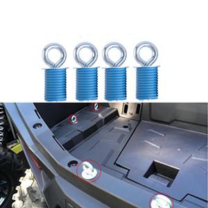 Blu ATV lega giù ancoraggio Tie Downs ancore per Polaris RZR 570 900 ZR S 900 800 1000 XP Sportsman 110 400 450 Sportsman