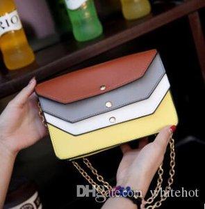Marcas famosas Mujeres de alta calidad de cuero de la PU bolsas de mensajero Bolso bandolera femenina Crossbody Bolso inclinado Bolsa de contenido de la tienda