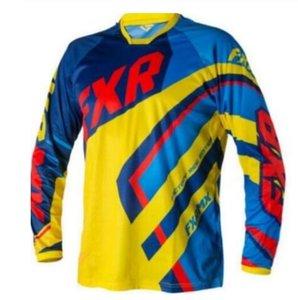 Yeni FXR off-road motosiklet sürme takım elbise off-road motosiklet ceket off-road bisiklet uzun kollu sürme takım elbise erkek uzun kollu sürme takım elbise