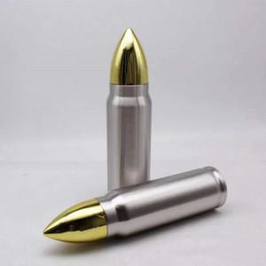 Bullet Tumbler 17 oz en acier inoxydable Thermos isolé café Tasse de bouteilles d'eau Voyage Livraison gratuite A03