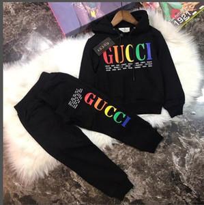 2019 Hot bébé garçons tenues top lettre bambin + pantalon imprimé dinosaure 2pcs été mis en 2019 enfants boutique de mode Ensemble vêtements C5937
