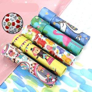 Rotazione casuale del prisma Rotating Kaleidoscope Unicorn Rotation Fancy World Baby regali di Capodanno giocattolo educativo Giocattoli creativi del fumetto