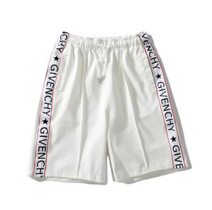 Settimana della moda di Parigi Best seller fashion design del marchio Crossing cranio doratura marea sport pantaloncini maschili basket cinque pantaloncini