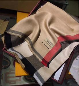 Nouvelle écharpe pour femmes de luxe Lettre Motif Designer cachemire tricot chaud écharpes longues écharpes chaudes Taille 180X70CM Top Qualité