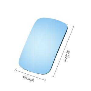 Carro de alta definição Boundless pequeno espelho redondo ajustável Blind Spot espelho retrovisor vidro quadrado lente grande angular DM-07
