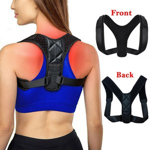 Unisex Adult Shoulder Back Support Belt Magnetic Posture Corrector Braces Healthy Adjustable Humpback Correct Band Relieve Fatigue FY4068