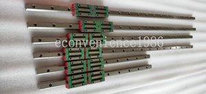 2 set HGR20--300 / 350/400/450/500/550/600/650/700/750/800/900/1000 millimetri lineare ferroviario HGH20CA Block Bearing Carriage