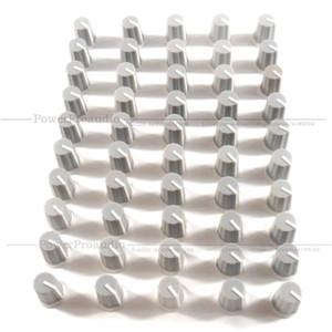 50pcs / lot EQ Cap égaliseur Bouton / High Bass School Pot Bouton Cap pour DJ Pioneer DJM DJM-2000 900 850 750 700 800 Couleur Gris