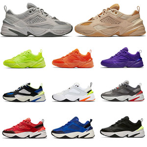 nike m2k Tekno zoom 2k off white air max Top Atmosphere Grau Papa Sportschuhe Jade Schwarz Orange Damenmode Marke Zapatillas Trainer Designer Turnschuhe NIK 36-45