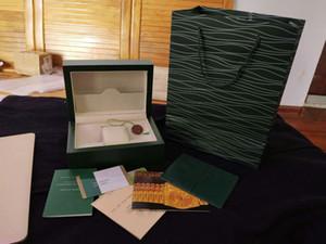 Mens Für Uhrenholzkiste Innen Außen Frau Uhren Boxen Papiere Geschenk-Beutel Mann-Armbanduhren Designer autoamtic Bewegung