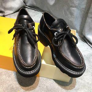 مصمم أحذية الفاخرة النساء Beaubourg لمنصة DERBY احذية عادية حجم 35-42 كعب نموذج ارتفاع 4CM QJ01