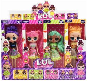 9'5 pouces vêtements peuvent changer de couleur PVC Kawaii beaux enfants jouets Anime Action figurines réalistes Reborn poupées cadeau 4 Styles 4pcs / boîte