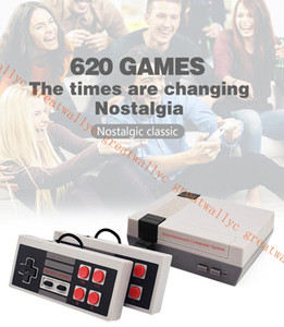 2019 New Mini Video Handheld Game Console Can Store 620 500Games NES And Retail Boxs Free Shipping